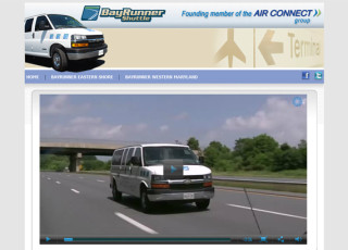 Website and application development for BayRunner Shuttle