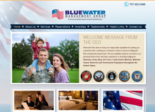 Bluewater Management Group website