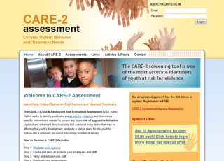 Website and application development for CARE-2 Assessment