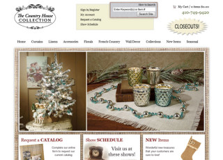 The Country House Collection website