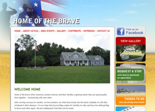 Home of the Brave website