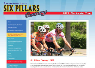 Custom Website Design for Six Pillars Century
