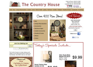 Custom E-Commerce Store for The Country House