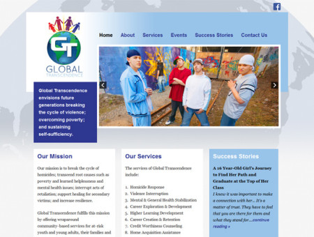 Global Transcendence WordPress Website
