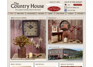 The Country House website