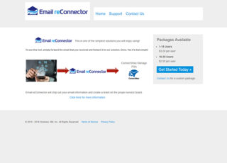 Email reConnector website